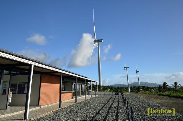 Pililia Wind Farm viewing area