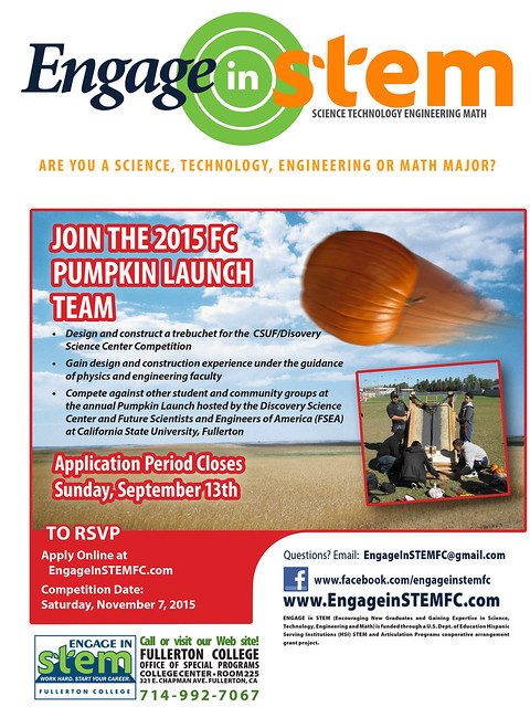Pumpkin Launch F15