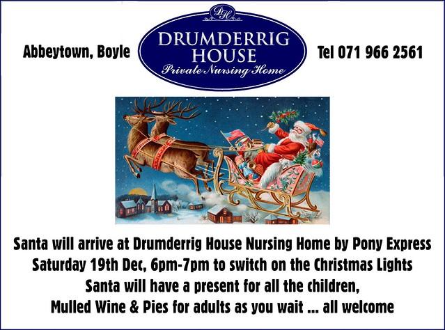 Drumderrig Santa 2015