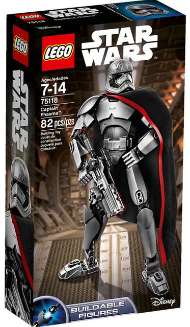 LEGO 組裝戰士系列將推出《星際大戰:原力覺醒》角色
