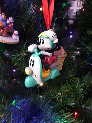 Mickey Vespa ornament