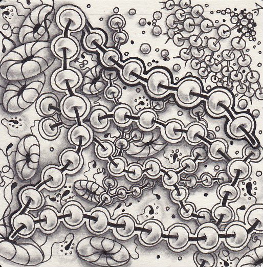 One Zentangle a Day - Day #3 (fail)