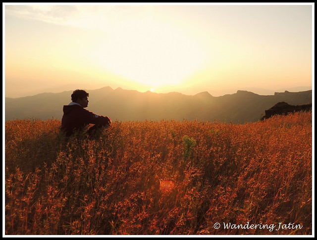 Sunrise at Rajgad Fort