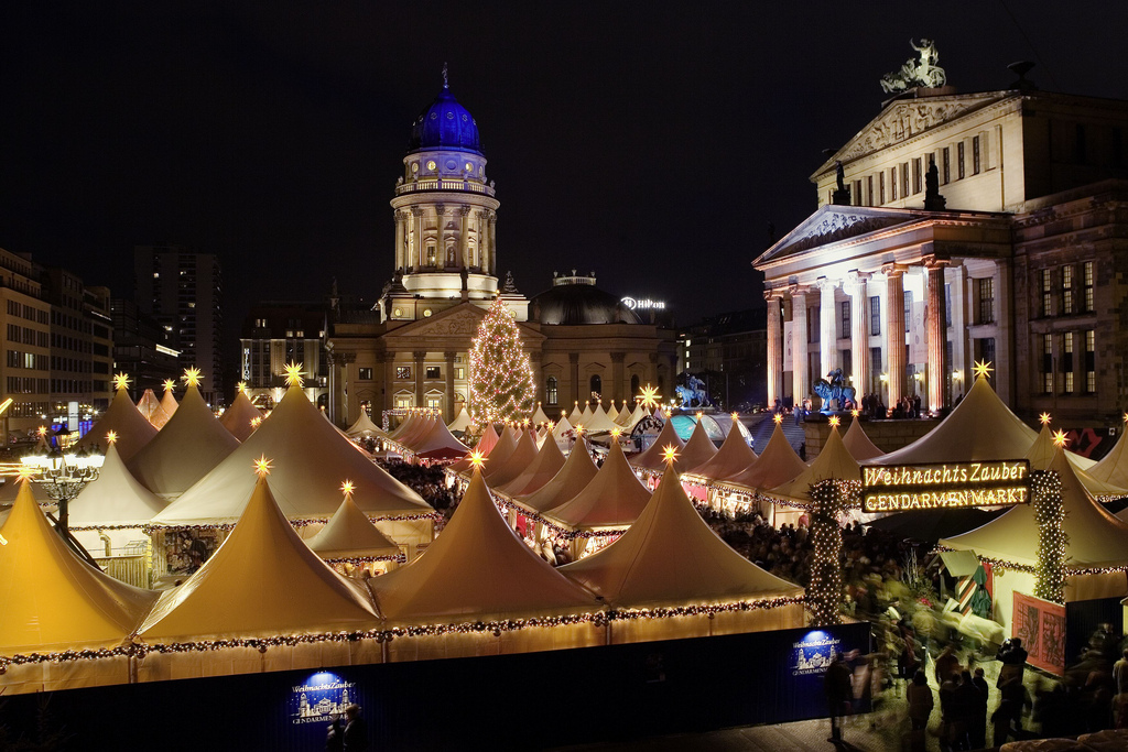 Christmas market in Berlin, Germany. Credit Wolfgang Scholvien