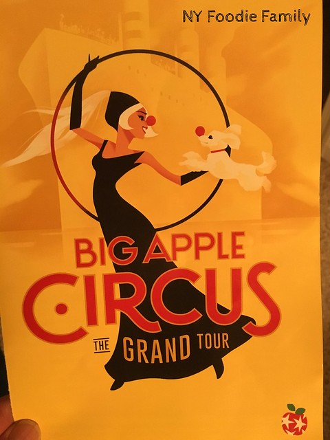 Big Apple Circus Program