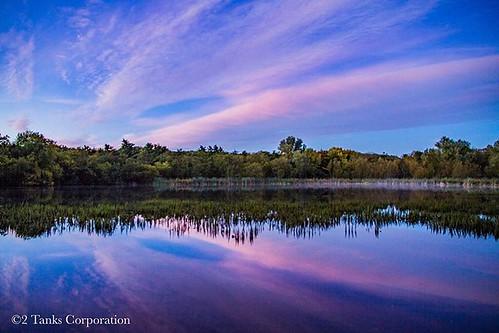 Dawn reflected