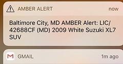 Please RT or share #AmberAlert