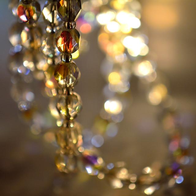 Backlit Swarovski Crystals, Nikon D7100, AF-S DX Micro Nikkor 85mm f/3.5G ED VR