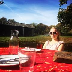 November 1st, lunch outside.