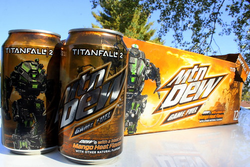 Mountain Dew Mango Heat Game Fuel