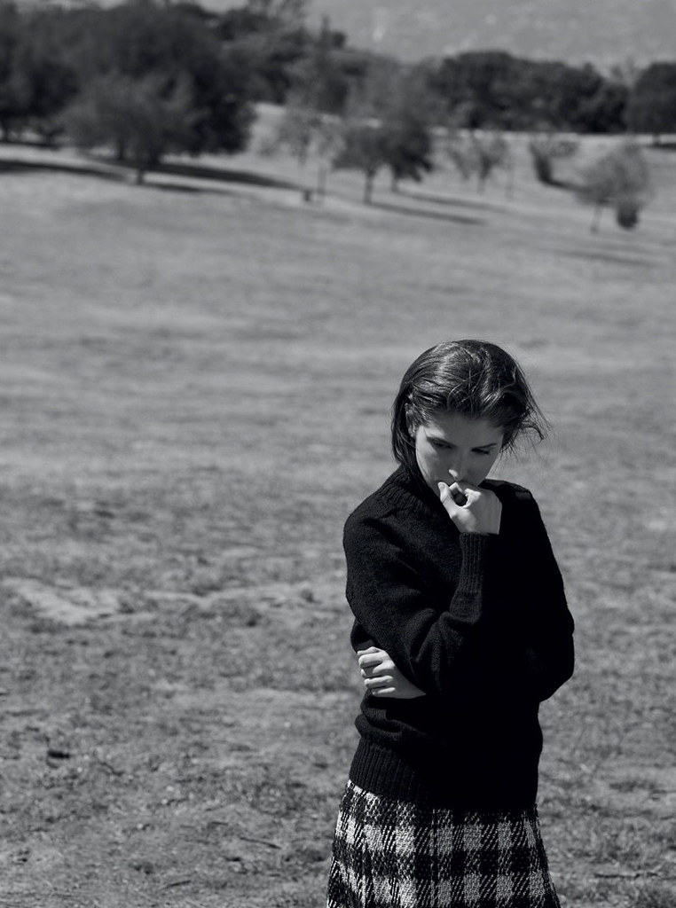 Анна Кендрик — Фотосессия для «InStyle» UK 2016 – 3