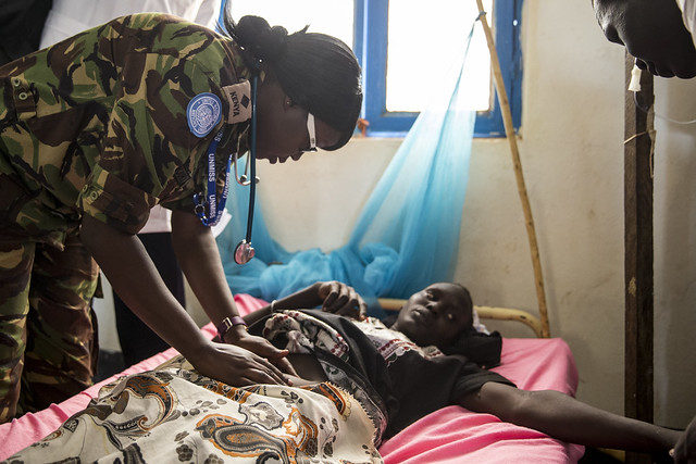 UNMISS Works with Warrap State Hospital