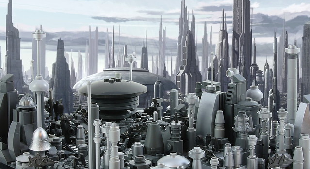 Coruscant: Senate District, by One More Brick, on Flickr