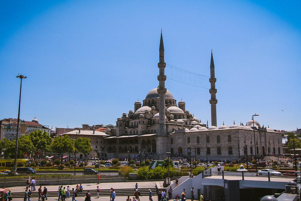 New Mosque (Yeni Cami), Istanbil / Новая мечеть или Йени Джами, Стамбул