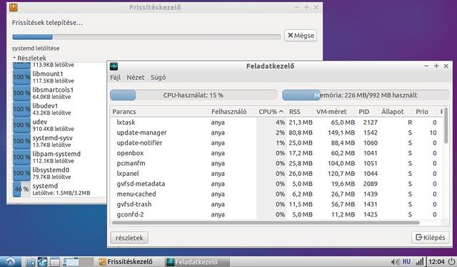 Asus Eee PC 1001HA korszerűsítése projekt #7