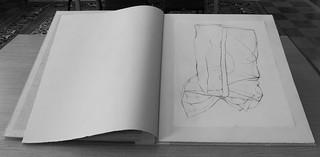 Halberd book of cereal bag drawings