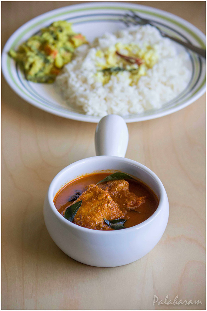 how to prepare kerala nadan fish curry