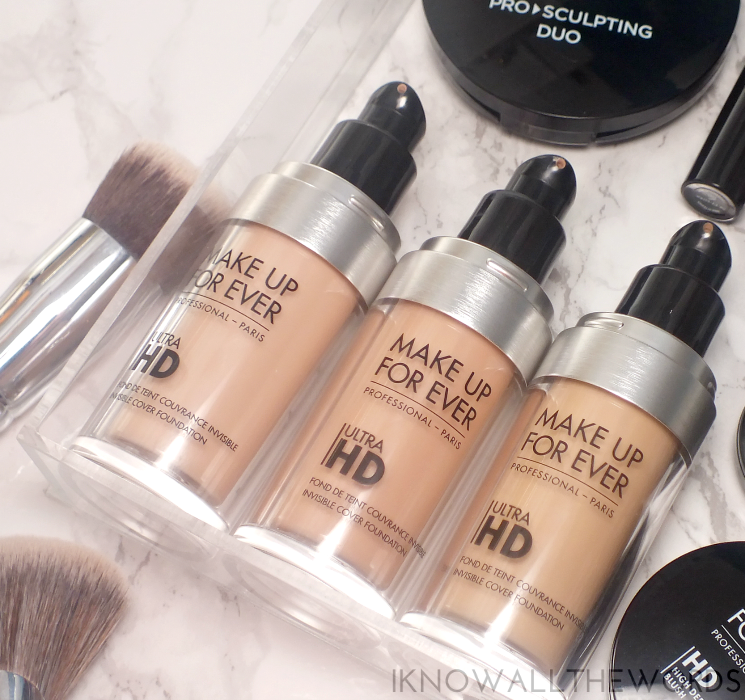 MAKE UP FOR EVER Ultra HD Invisible Cover Foundation R210, 115= R223, 117= Y225 (4)