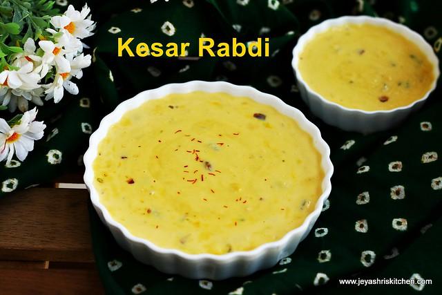 Rabdi- recipe