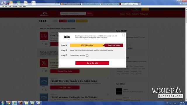 asos free express shipping