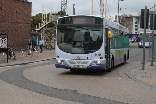 First Hampshire and Dorset 66885 MX05CLF