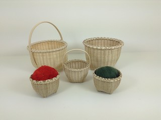 Contemporary Shaker Ash Baskets