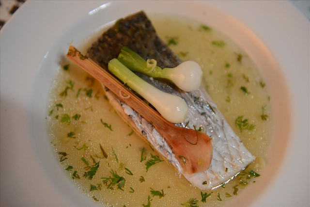 steamed snapper with lemongrass and galangal
