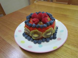 Fresh-Fruit Cake