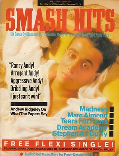 Smash Hits, September 11, 1985