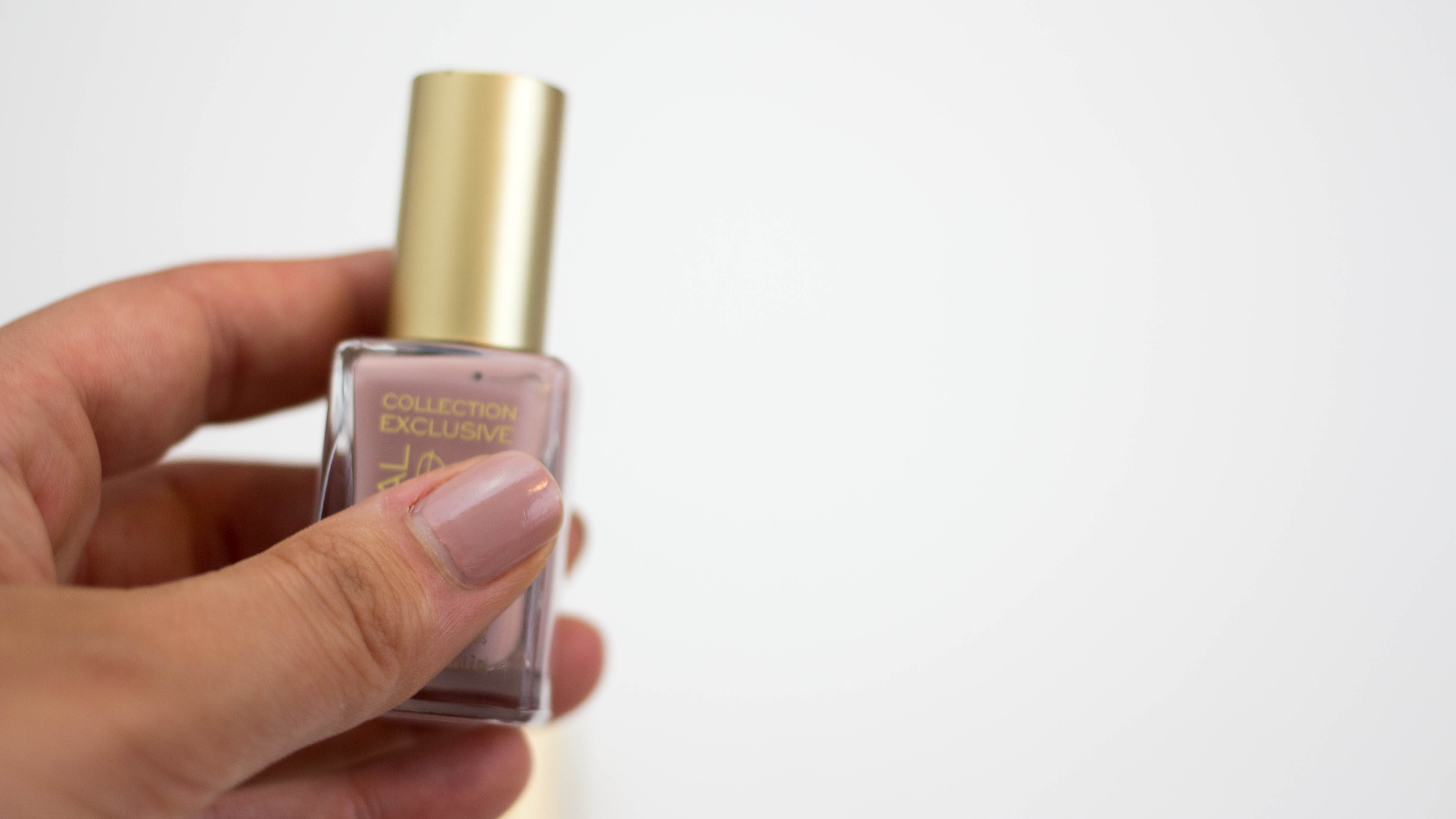 The Understated Manicure |A Hint of Rose