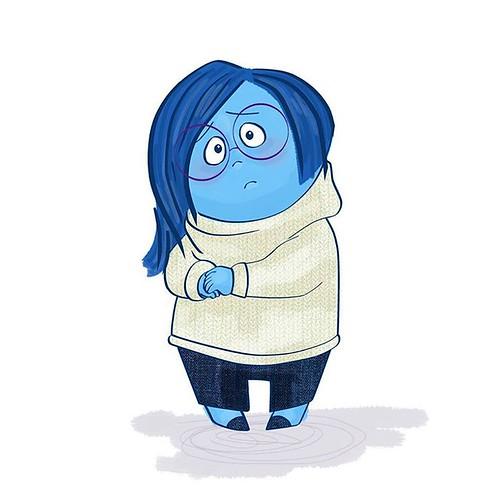 I dunna drawrin #sadness #insideout