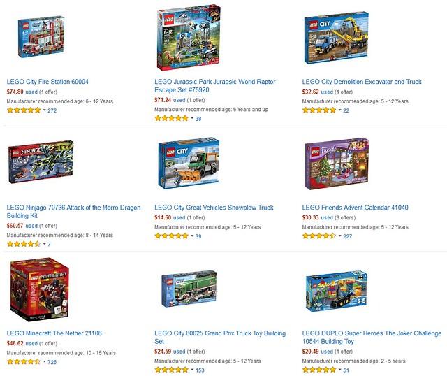 Amazon Warehouse Deals Lego