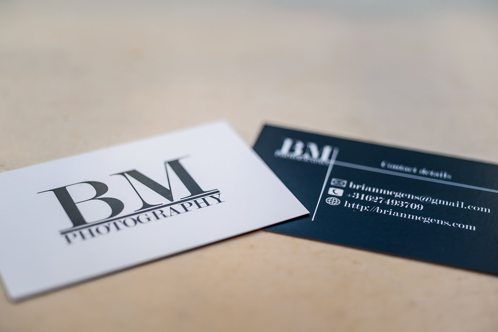 Brian Megens Photography Business Cards - Brian Megens Photography