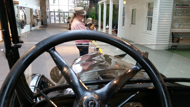 Behind the Wheel of a Model T