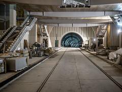 Journées européennes du patrimoine 2015 - Visite du chantier du tunnel de la ligne du tramway T6 dans la forêt de Meudon - RATP