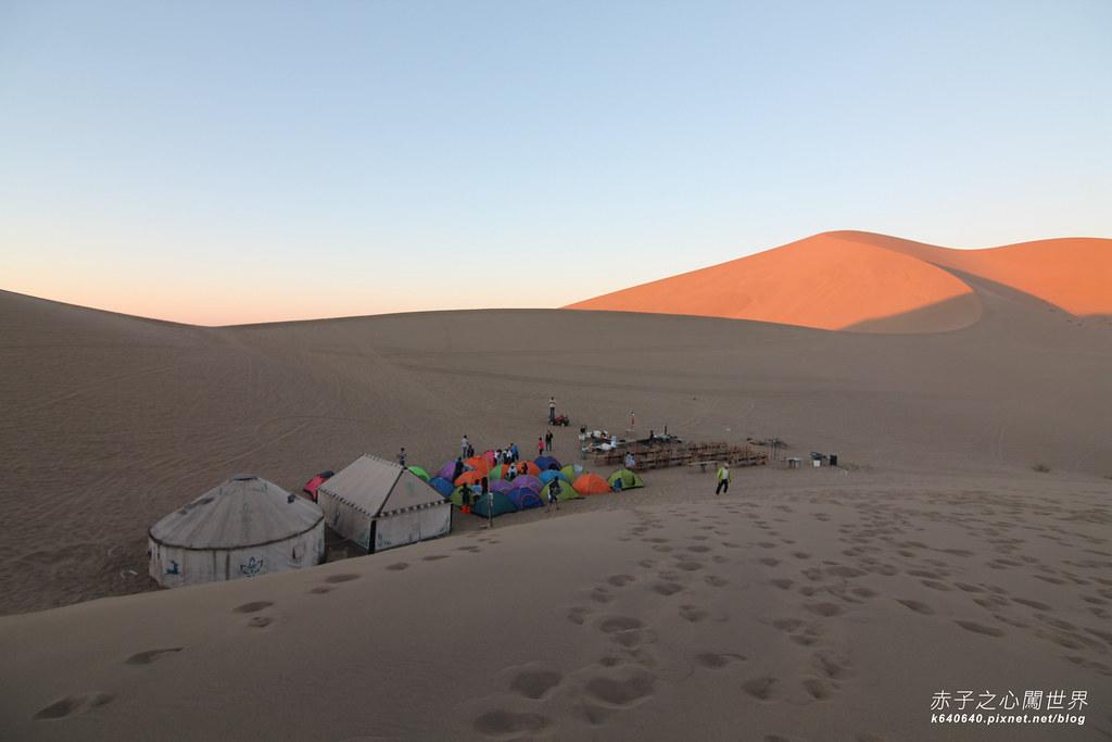 絲路-敦煌鳴沙山月牙泉-沙漠露營13