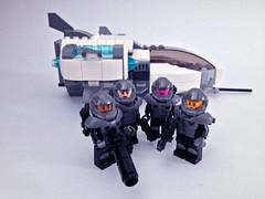 Galaxy trooper crew