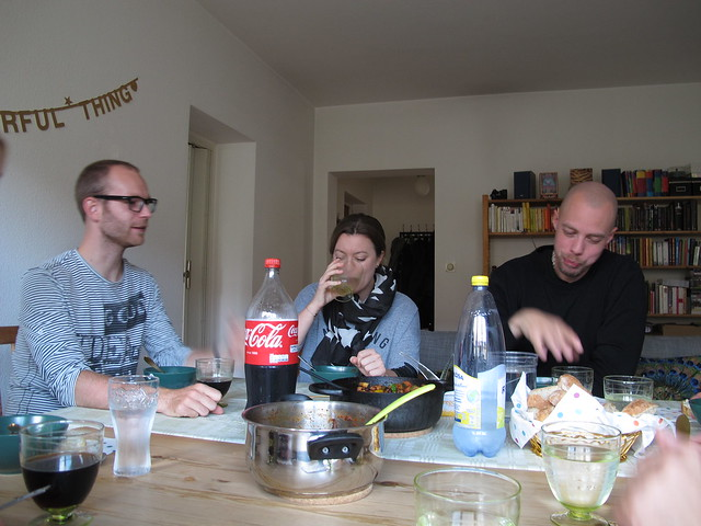 dinner with the gang, mera mat-klubben, sunday, helsingborg
