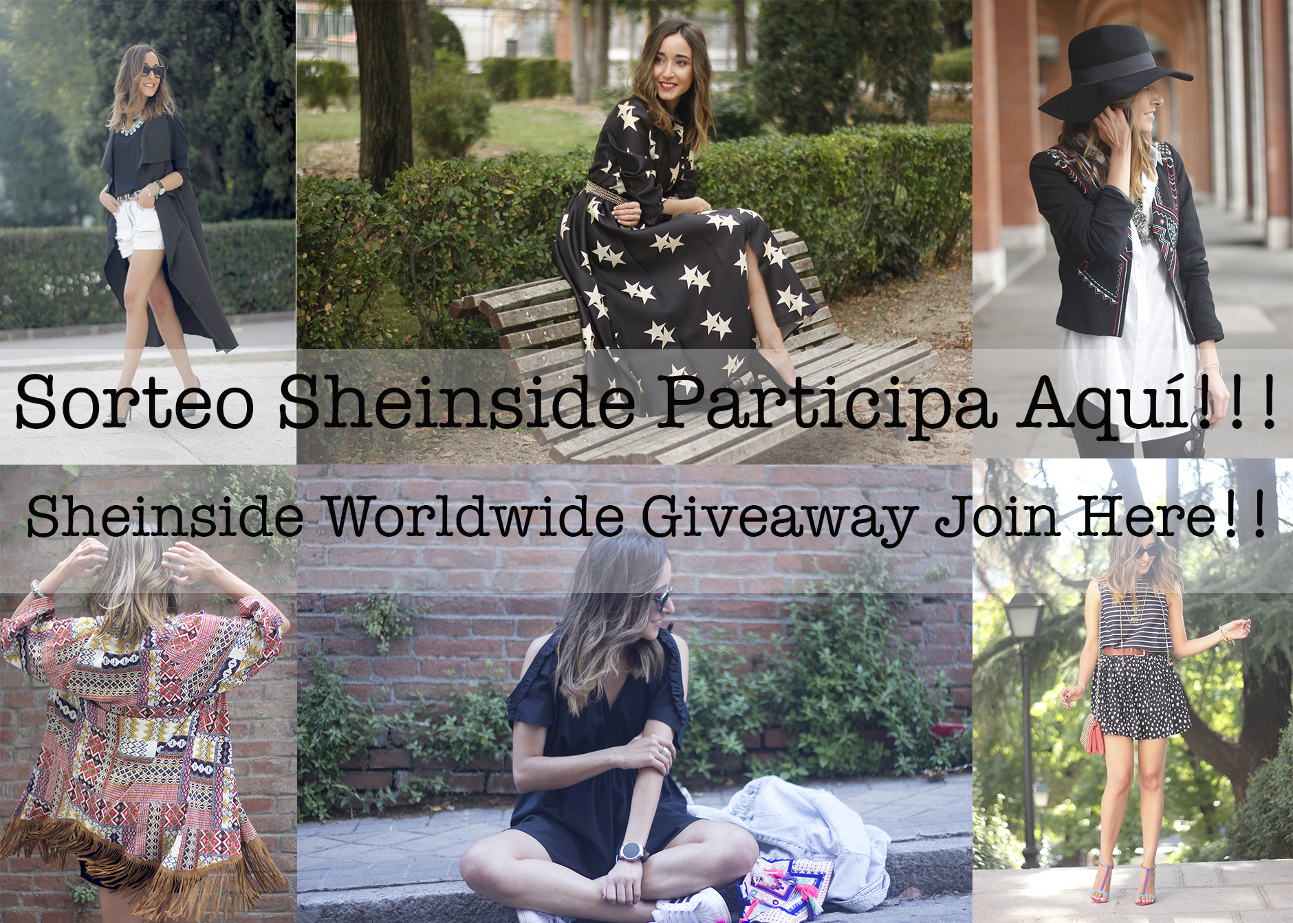 Sheinside worldwide Giveaway