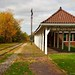 Fall Colors by the Train Depot - Orchard Park, NY (DTB_4911) by masinka