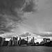 Clouds over Manhattan by Jon Bewlay