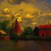Hunsett Mill. by Nellie Vin