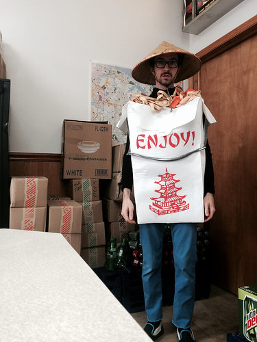 Takeout Costume (1) (October 31 2014)