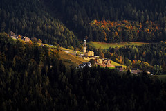 Boario di Gromo in autunno