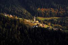 Boario di Gromo in autunno