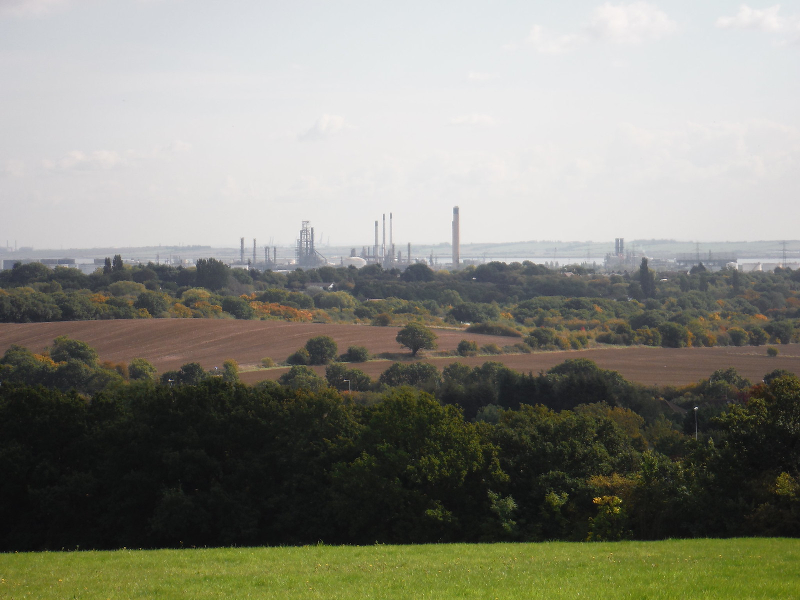 Ex-Refineries at Coryton and Shellhaven SWC Walk 114 Laindon Circular