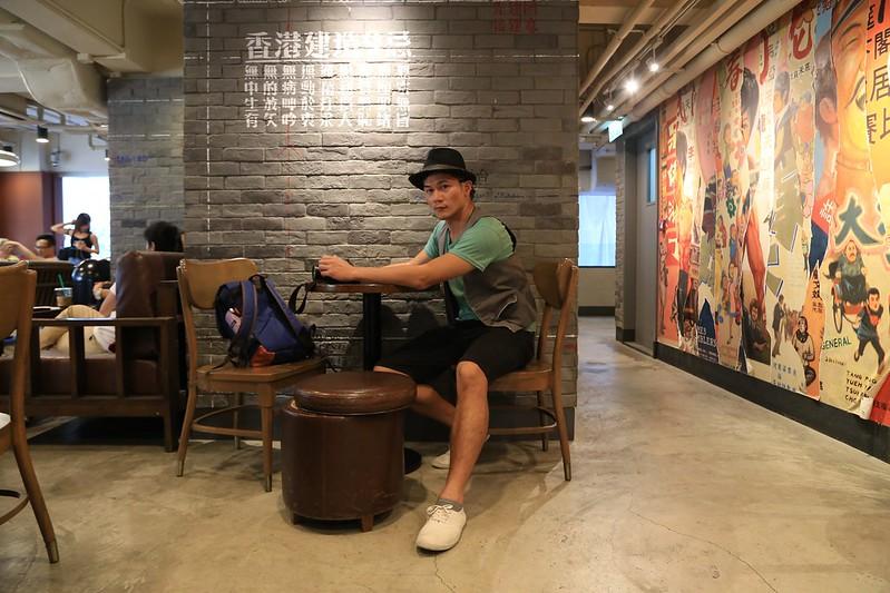 香港-洗衣街-星巴克-好戲上場 (11)