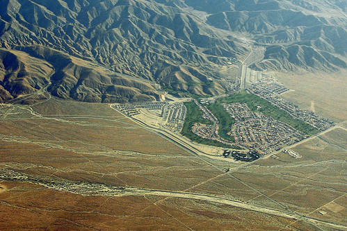 Mission Lakes Country Club, under construction, Desert Hot Springs, California
