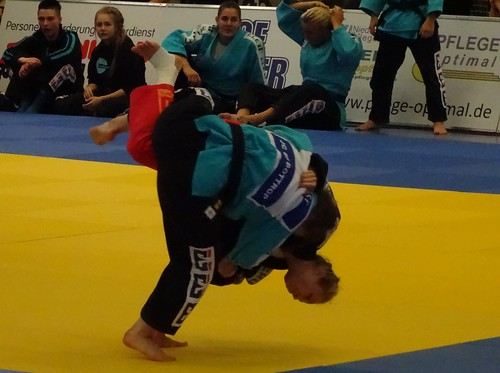 Final competition of the German women teams Judo-championships