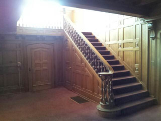 Entrance Hall with classic stairs